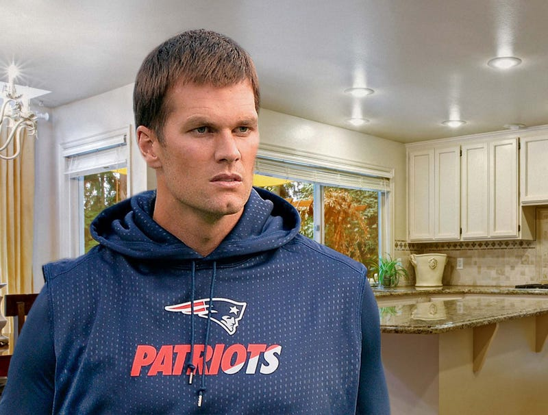 Illustration for article titled Tom Brady Haunted By Destroyed Cell Phone Ringing Beneath Floorboards