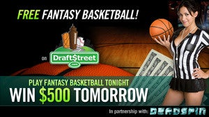 Illustration for article titled Play Fantasy Basketball Tonight For Free, Win $500