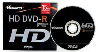Illustration for article titled Memorex Ships HD DVD-R Blanks, Gets Blank Stare from Consumers