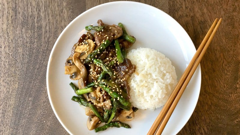 Magic happens when you combine soy sauce and butter