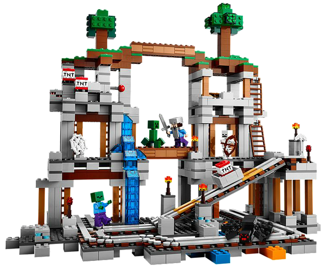 Mining Toys For Boys : New lego minecraft sets available now