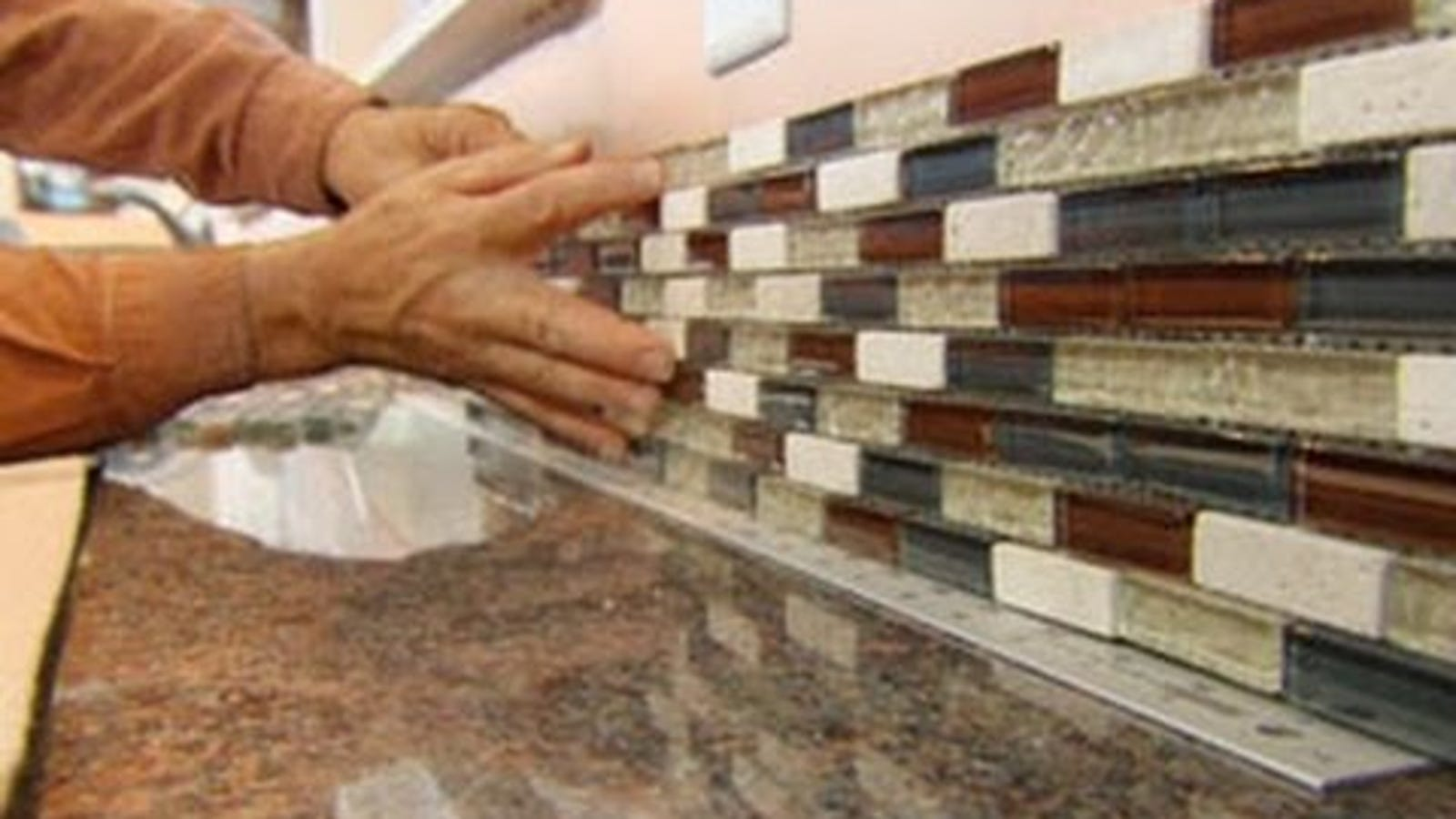 Install A Tile Backsplash In Less Time With A Tile Setting Mat