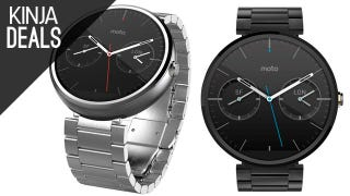 Illustration for article titled The Moto 360 with Metal Band Comes with a $50 Gift Card Today
