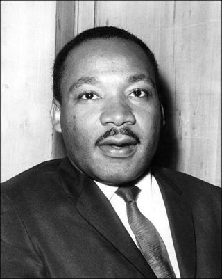 Martin Luther King Jr. (AFP/Getty Images)