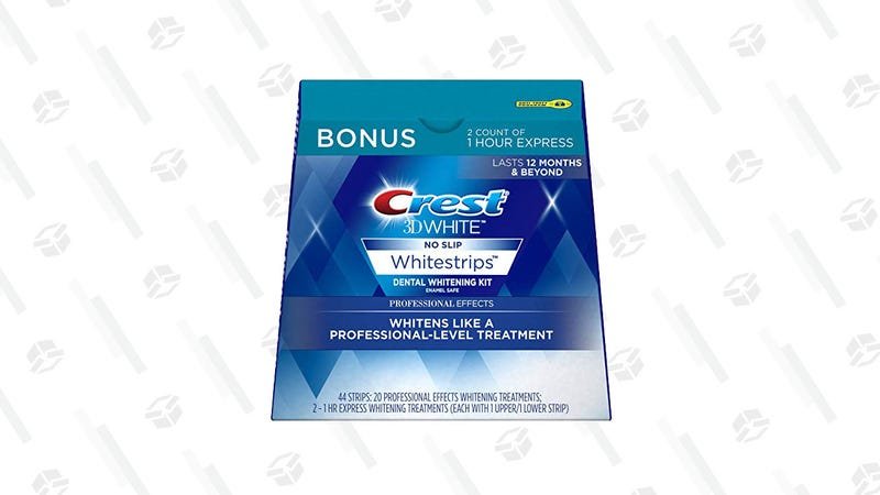 Crest 3D White Professional Effects Whitestrips | $50 | Amazon | Clip the $10 coupon