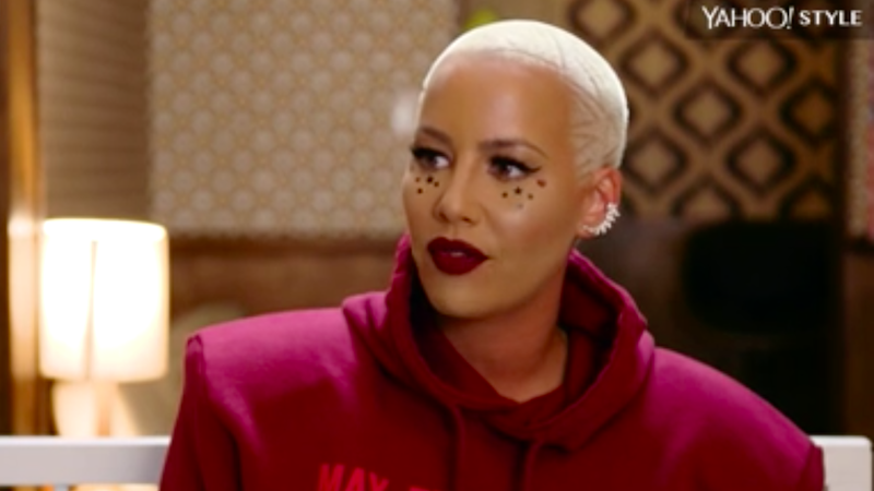 Amber Rose: 'I Cannot Even Count How Many Times a Famous Guy Touched Me Inappropriately'