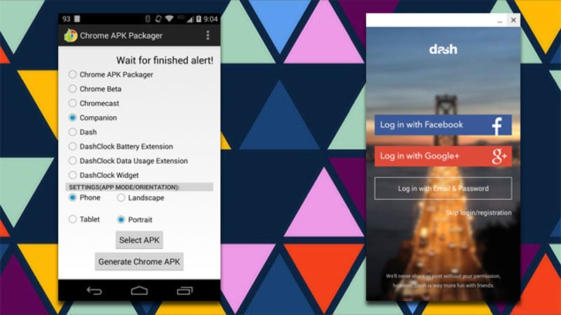 chrome apk packager turns your android apps into chrome extensions