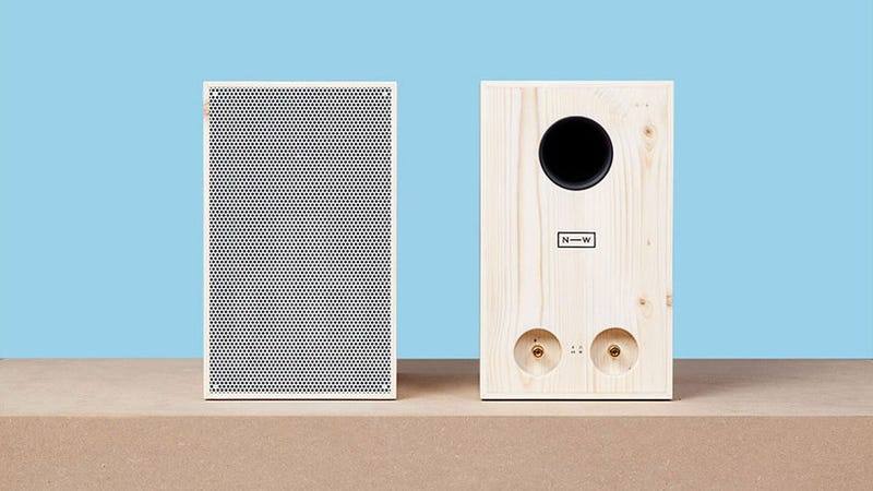 Illustration for article titled Sustainable Wooden Speakers For Ethical Audiophiles