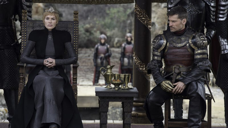 The look of the Lannisters after discovering they'd fallen to second place. Image: HBO.
