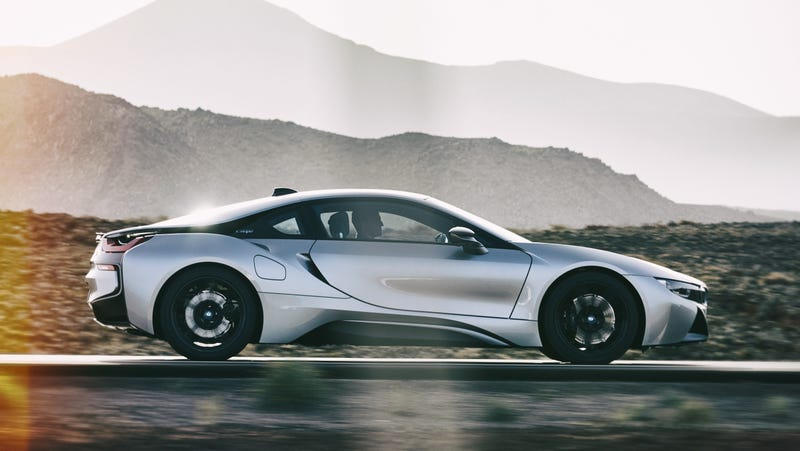 Illustration for article titled The Next-Gen BMW i8 Could Go All-Electric