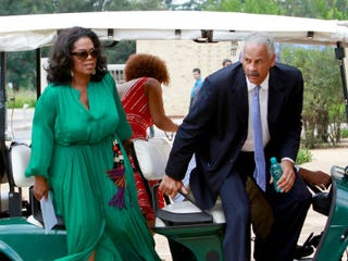 Oprah Winfrey and Stedman Graham (Michelly Rail/Getty Images)