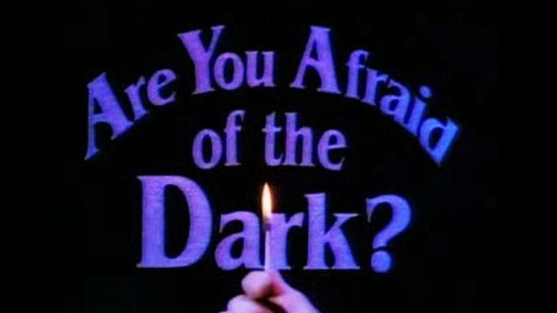 Illustration for article titled Do the scares in Are You Afraid Of The Dark? still induce shivers?