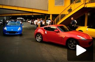 Illustration for article titled 2009 Nissan 370Z Unveiled Live At Secret LA Event