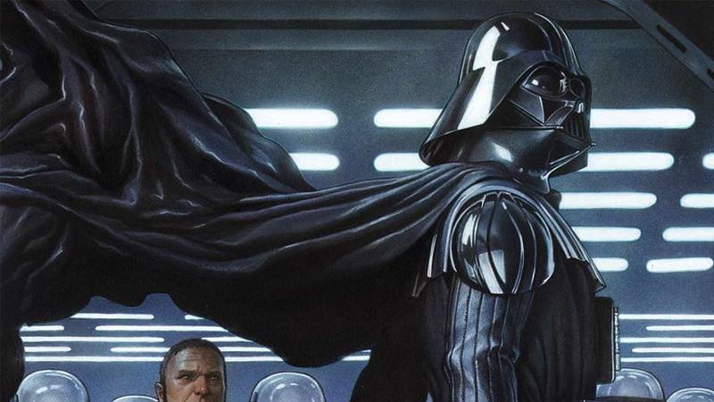 Darth Vader #2 cover art by Adi Granov