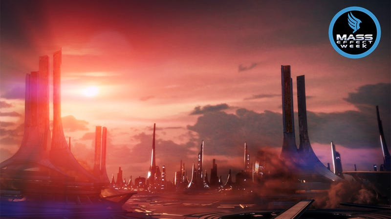 Illustration for article titled The Beautiful Alien Worlds of Mass Effect