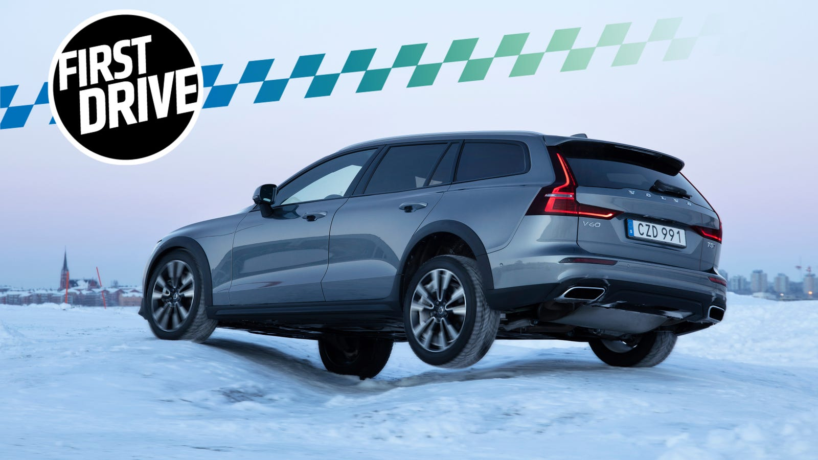 The 2020 Volvo V60 Cross Country Is The Anti Crossover