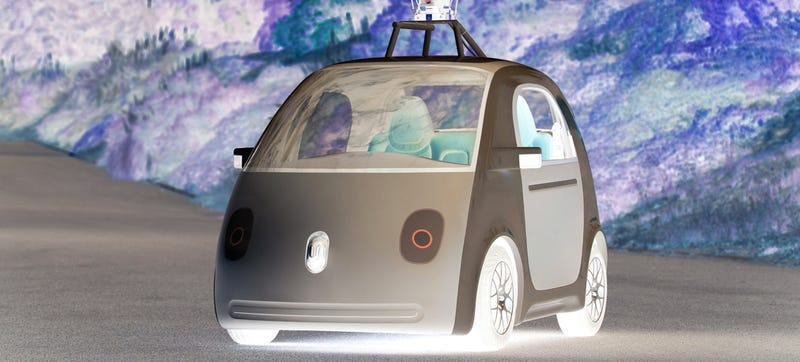 Illustration for article titled What Do You Fear Most About The Google Car?