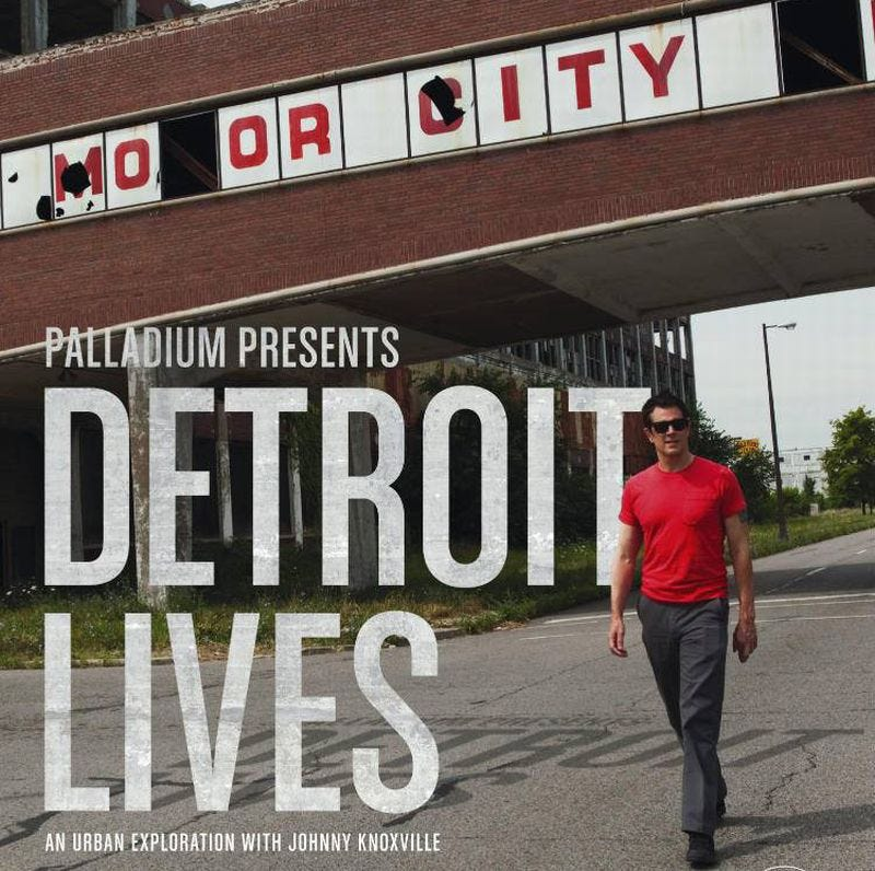 Illustration for article titled Detroit Lives: Johnny Knoxville's Honest Portrait Of The Motor City