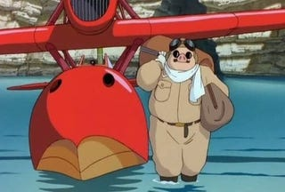 Illustration for article titled Hayao Miyazaki wants to make a sequel to his flying pig flick Porco Rosso