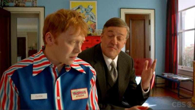 Illustration for article titled Remember the show Super Clyde with Rupert Grint and Stephen Fry?