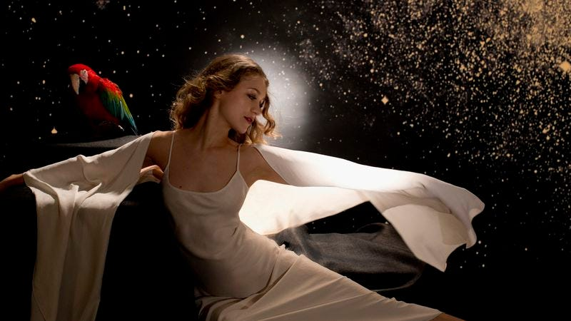 Illustration for article titled Joanna Newsom taps into the ether on Divers