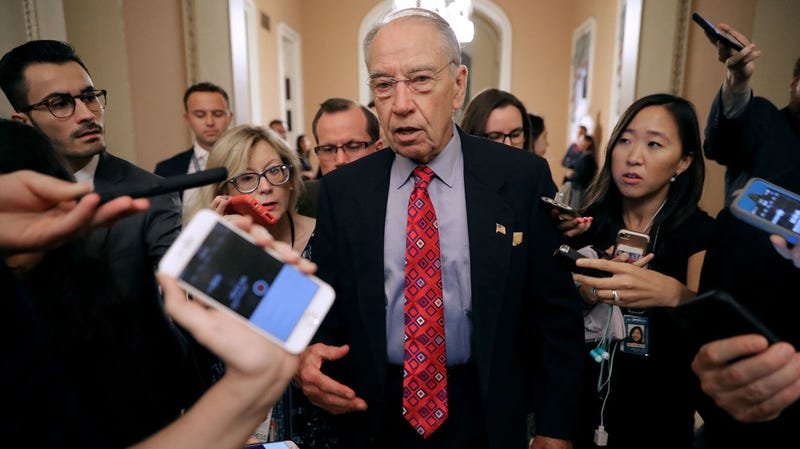 Illustration for article titled Chuck Grassley Signals Possibility of Second Hearing
