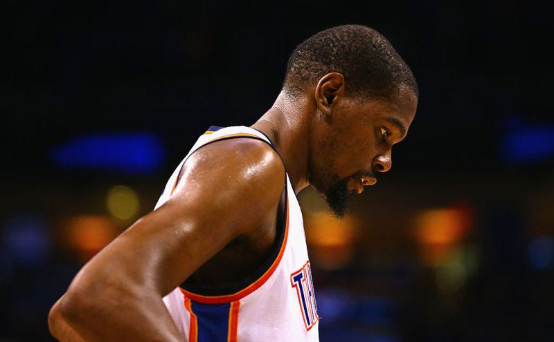 """Illustration for article titled No, Kevin Durant Is Not """"The Servant"""""""