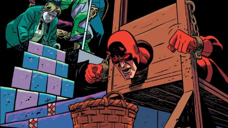 Illustration for article titled The thrilling Daredevil #31 tackles the Trayvon Martin trial verdict