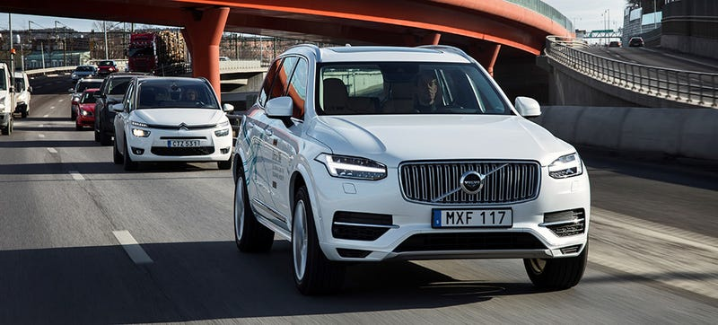 Illustration for article titled Volvo Is Taking Its Self-Driving Cars to China