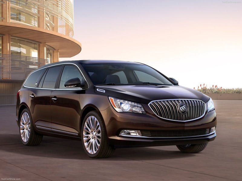 Illustration for article titled I Present The 2014 Buick LaCrosse Roadmaster