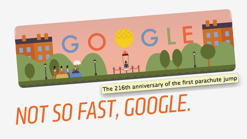 Illustration for article titled Why Today's Google Doodle Is Charming But Wrong