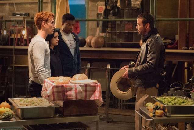 This year, Riverdale gives thanks for cannibalism hoaxes and controlled explosions