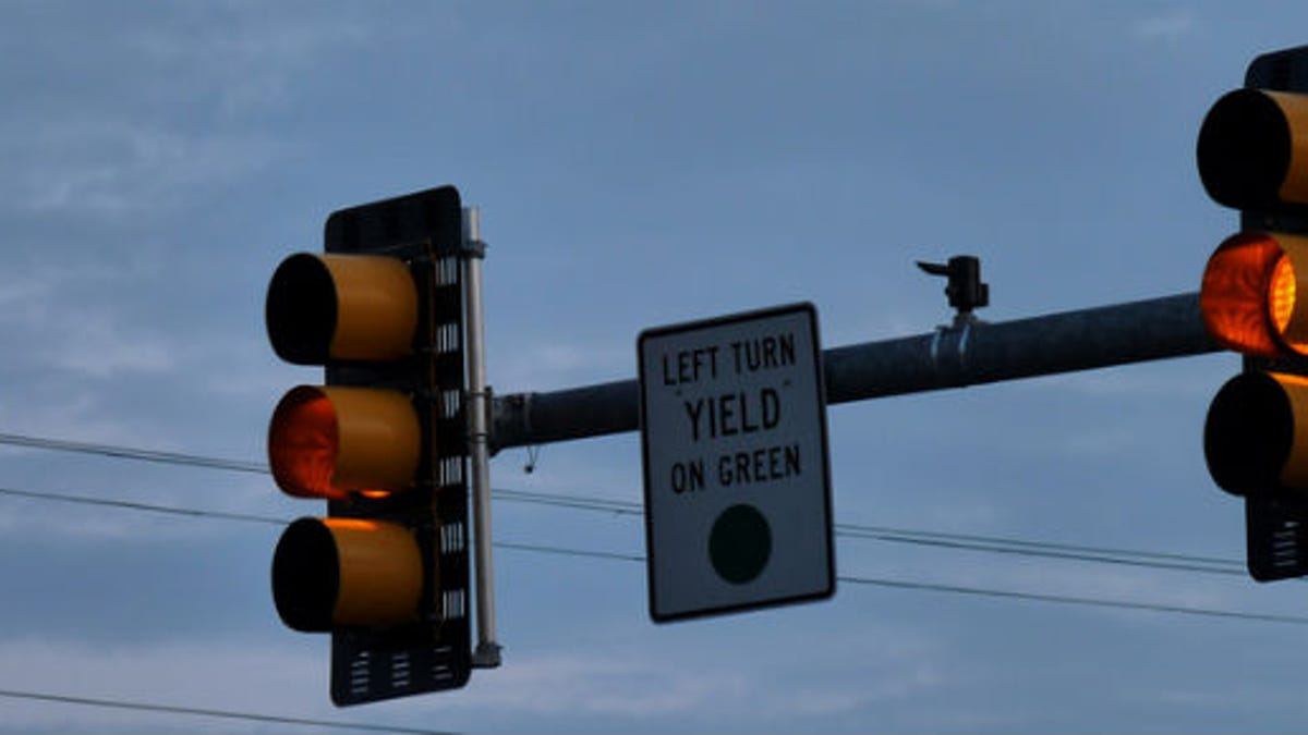 How Long A Yellow Light Should Be Flow Diagrams Traffic Lights