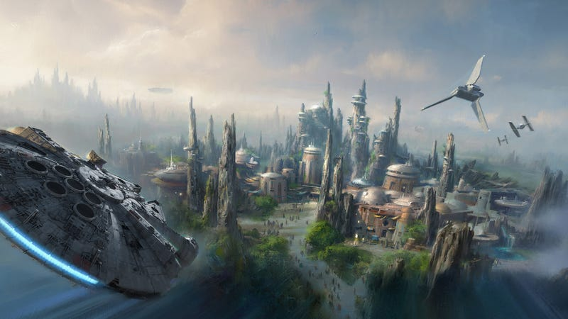 Illustration for article titled Disney Is Adding A Massive 14 Acres of Star Wars To Its Theme Parks (Updated)