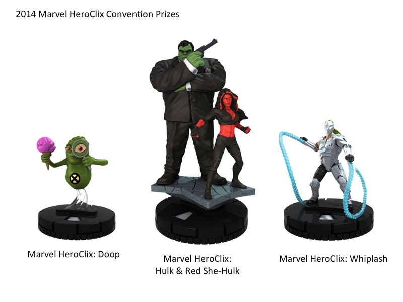 Illustration for article titled Zombie Galactus And More Newly Revealed Exclusive Heroclix