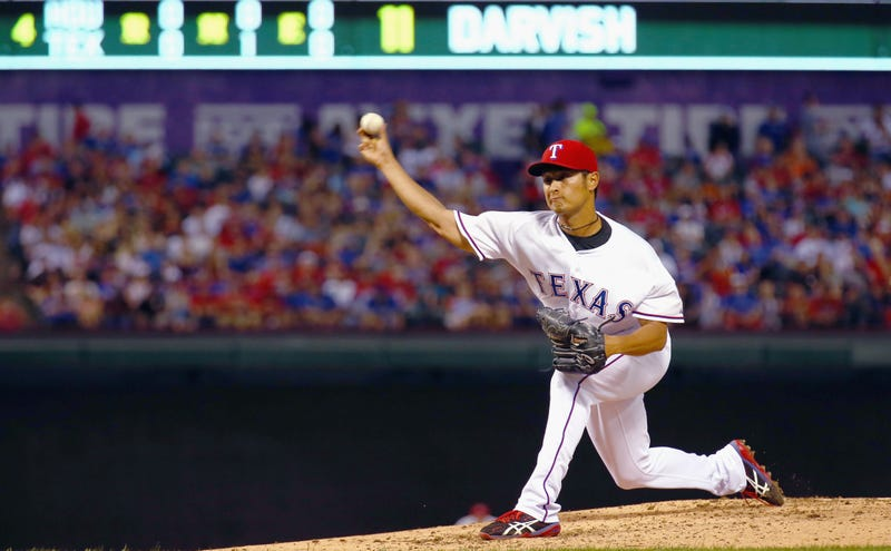 Illustration for article titled Yu Darvish To Miss At Least Four Months, Might Have Tommy John Surgery