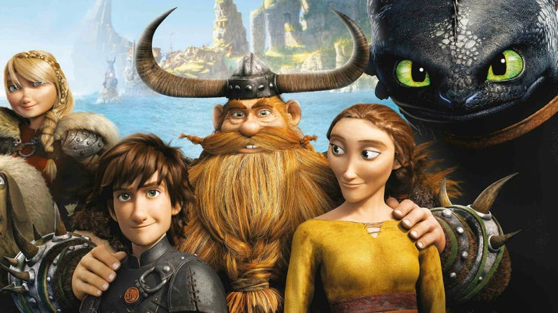How to Train Your Dragon is a family affair.