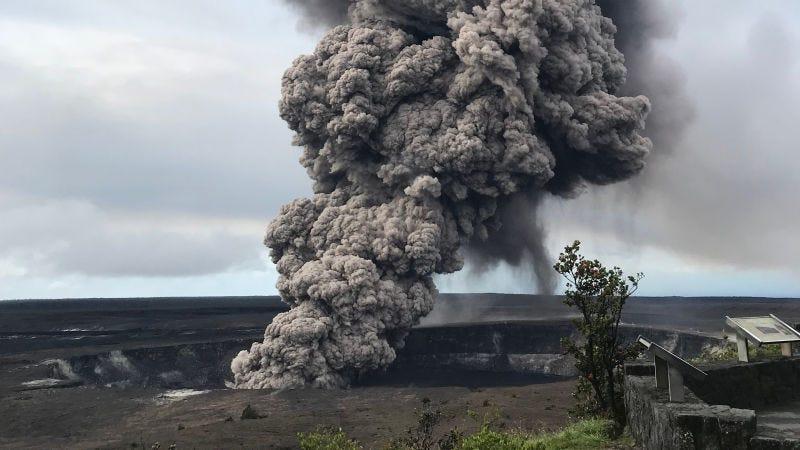 Illustration for article titled El volcán Kilauea podría sufrir una erupción explosiva (y qué significa eso para Hawái)