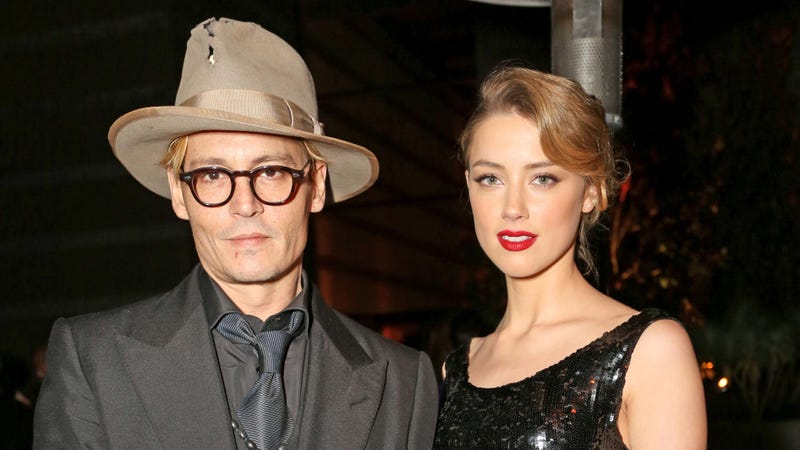 Illustration for article titled Johnny Depp, 50, Is Officially Engaged to Amber Heard, 27