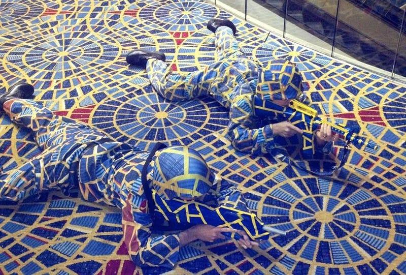 Ấn tượng cho không gian với thảm len hình tròn màu sắc