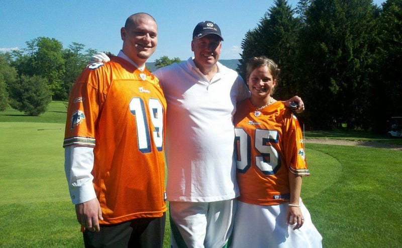 Illustration for article titled Rex Ryan Gives Miami Dolphins Fans His Blessing On Their Wedding Day
