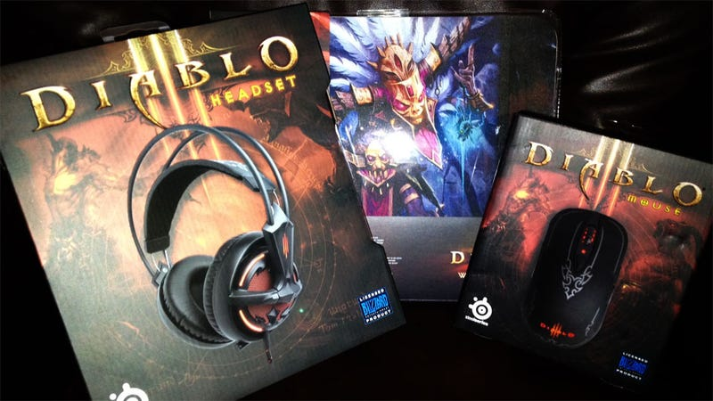 Illustration for article titled Getting Prepared for Diablo III the SteelSeries Way