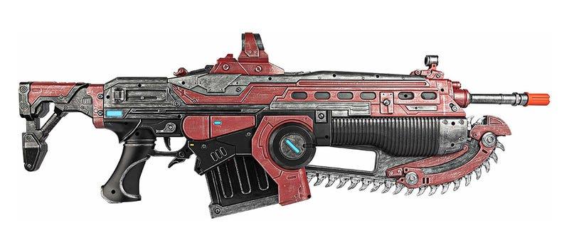 Réplica del fusil Crimson Lancer MK3 de Gears of War 5