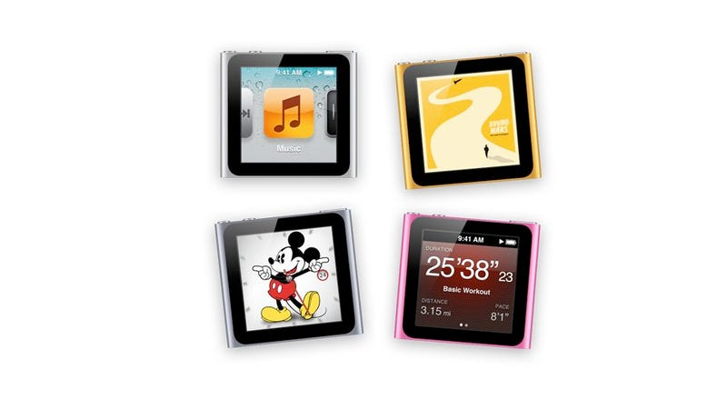 Illustration for article titled The New Fitness-Centric iPod Nano Doubles As a Watch