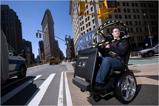 Illustration for article titled GM, Segway To Unveil New Two-Wheeled Urban Vehicle