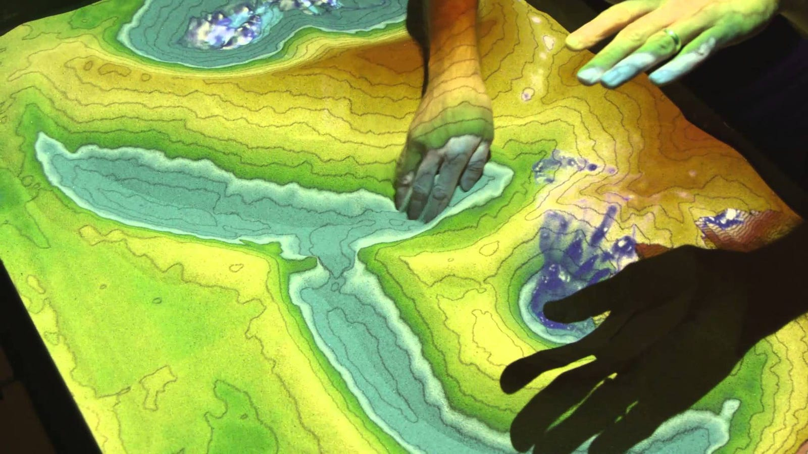 Build an Augmented Reality Sandbox with Real-Time Topography