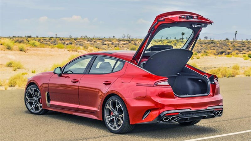 The Hatch-Tacular 2018 Kia Stinger Will Start At $32,795 ...