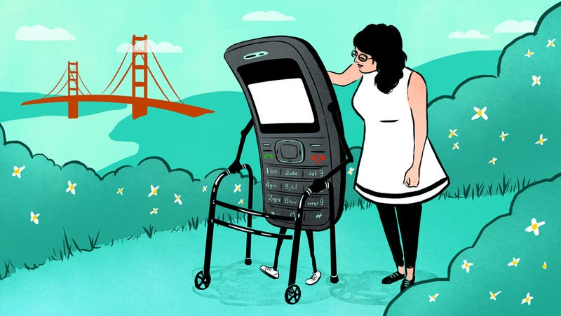 Illustration for article titled What It's Like to Have the Oldest Phone in San Francisco