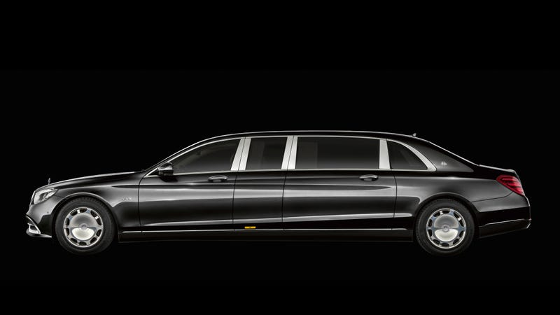 Illustration for article titled Nobody Is Good Enough For The New Mercedes-Maybach Pullman