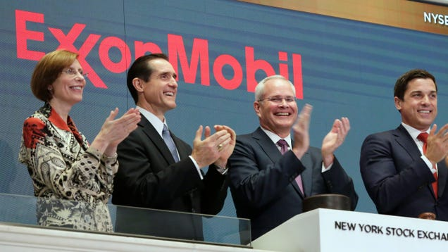 Shareholders Tell Exxon to Screw Off